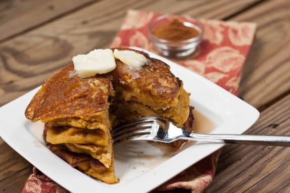 Pumpkin Pancakes-3